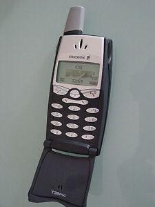 world Ericsson T39 T39m flip phone - bluetooth & voice dialing