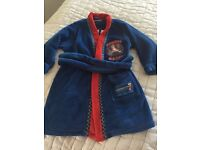 Boys Nintendo Mario dressing gown age 4-5 years