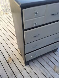 Solid wood drawer and nightstand