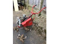 Wolsely major merry tiller rotavtor gd working order with blade extensions £130 Ono