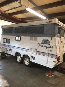 19' camper trailer for sale or trade
