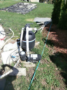 SUPERIOR AQUA SYSTEM water treatment system for pool