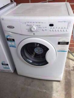 4.5 star great working 6th sensor 7.5 kg whirlpool front washing