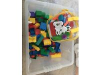 Lego and Stick Bricks