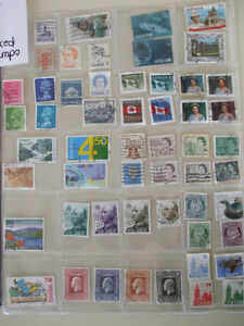"Used Postage Stamps Lot "" G "" Cambridge Kitchener Area image 3"