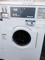 Commercial frontload washing machines