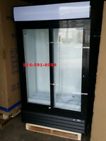 NEUF / NEW Frigo 2 portes vitree Double Glass Door Refrigerator