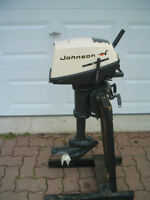 Johnson Outboard Motor 4hp