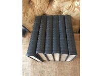 Antique books - HG Wells - 6 volumes