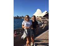 Two British girls looking for short term stay in Melbourne