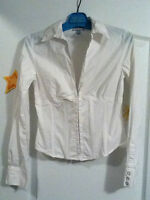 Guess Jeans White Blouse