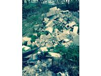 Large amount of rubble for free