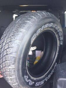 One brand new tire