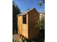 Forest Wooden 6x4ft Shed