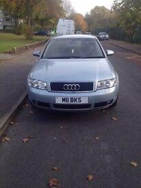 2002 audi a4 2.5 diesel 5 door manual