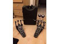 Iron cobra double kicker pedal