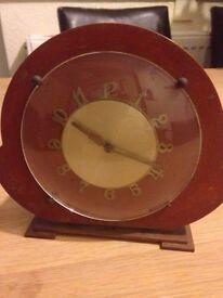 Vintage small mantel piece Clock