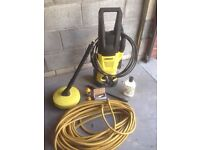 Karcher K2 Premium power washer 1400W with hose connectors accessories