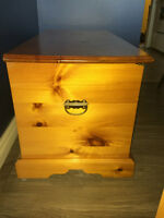 Cedar Lined Solid Wood Chest - Lots of Storage
