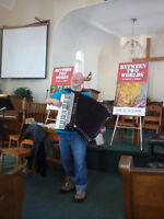 Ian Robinson, Accordionist and Entertainer