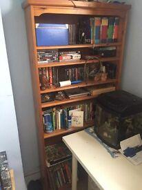 Medium Sized Solid Wood Bookcase