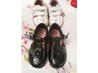 Clarks light up shoes and trainers size 5, like new
