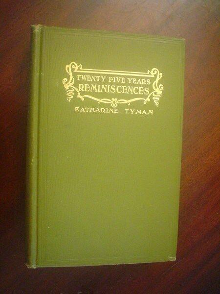 Tynan. Twenty-Five Years : Reminiscences
