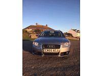 Silver Audi Avant. 2.0 TDI. SLINE