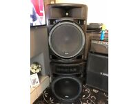 MArtin MAch M-Flex active powered speakers PA system 2 tops 2 subs : sale or swap for why