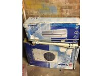 First line Air con / heating wall unit with fan - brand new boxed