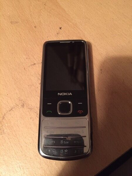*NOKIA 6700 CHROME CLASSIC UNLOCKED FULLY WORKING RARE* £39! Ono