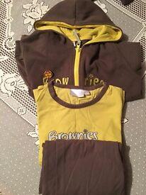 Brownies uniforms x3