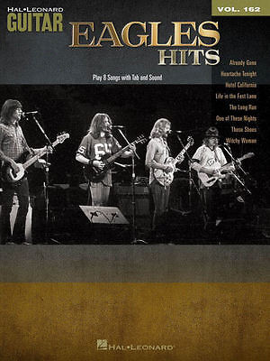 Eagles Hits Sheet Music Guitar Play-Along Book and Audio NEW 000102667
