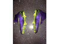 Nike hypervenoms professional soft ground size 8.5