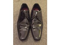Burnton Mens Size 9 Black Formal Shoe £15 Only Worn Once Collection Only