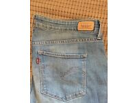 Pair of Women's Designer Levi Strauss Jeans - US Size 31