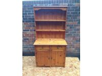 Pine whelsh dresser free delivery