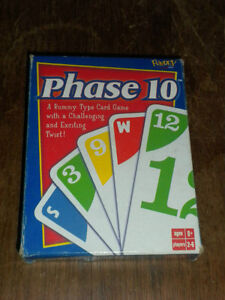 Phase 10 games-several versions-complete