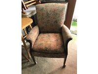 Parker Knolls Vintage High Back Chair