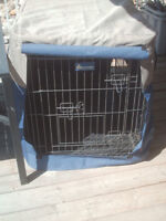 Wire Kennel and cover