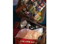 Job lot of 100 items from bankrupt store