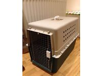 Large cat / dog travel crate airline approved