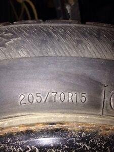 Winter tires an rims Stratford Kitchener Area image 5