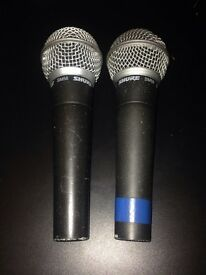 Sm58 microphones