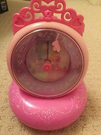 Disney princess clock and torch