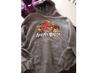 Angry birds hoodie age 12yrs