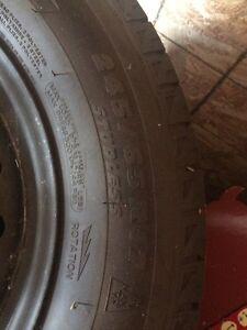 Winter tires 245/65/R17 Kitchener / Waterloo Kitchener Area image 1