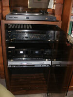 Stereo System - Receiver, Turntable, Stereo, DVD/CD player