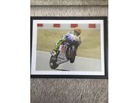 Valentino Rossi Personally Signed Picture