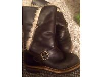 CAT Boots - Leather